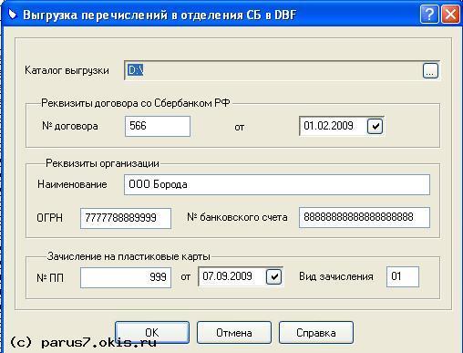 Расчетные карты Новомосковск
